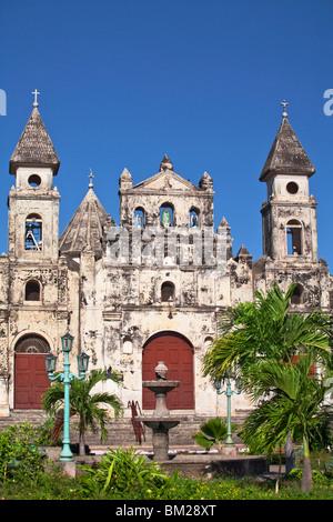 Iglesia de Guadalupe, Granada, Nicaragua - Stock Photo