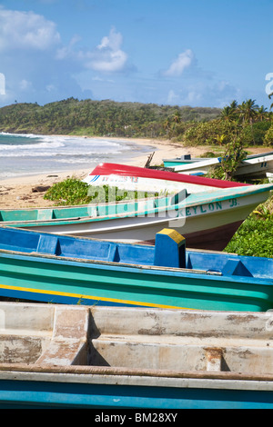 Long Bay, Big Corn Island, Corn Islands, Nicaragua - Stock Photo