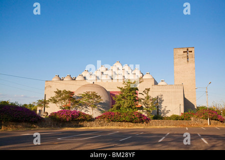 New Cathedral (Nueva catedral), Managua, Nicaragua - Stock Photo