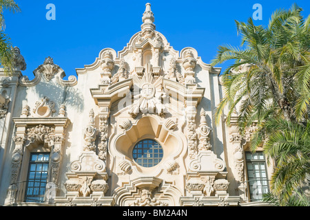Casa del Prado, San Diego, California, USA - Stock Photo