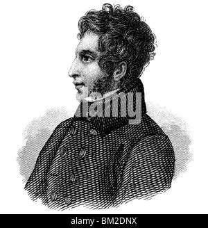 Edward Bulwer-Lytton, 1st Baron Lytton - Stock Photo
