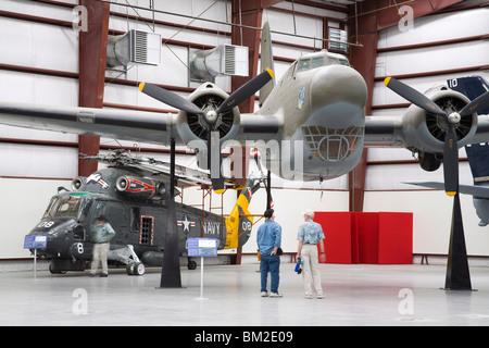 Douglas B-18B Bolo, Pima Air and Space Museum, Tucson, Arizona, USA - Stock Photo