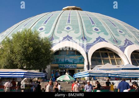 Chorsu Bazaar, Tashkent, Uzbekistan - Stock Photo