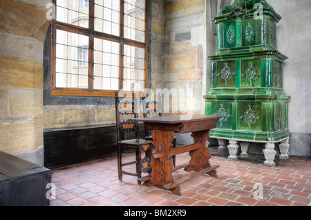 Old Royal Palace, Ludvik Wing,Prague castle - interior - Stock Photo
