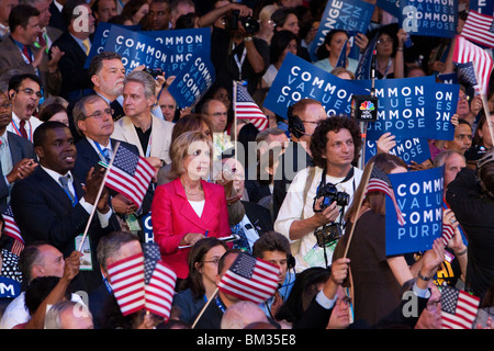 Andrea Mitchell in the Crowd - Stock Photo