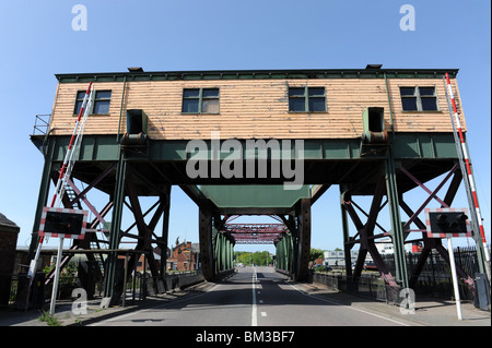 Duke Street Bridge at Birkenhead Merseyside CH41 1LG - Stock Photo