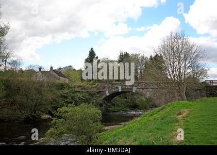 Bridge of Craigisla, Angus, Scotland, United Kingdom. - Stock Photo