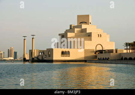 Qatar, Doha, Museum of Islamic Art, I M Pei architect 2008 - Stock Photo