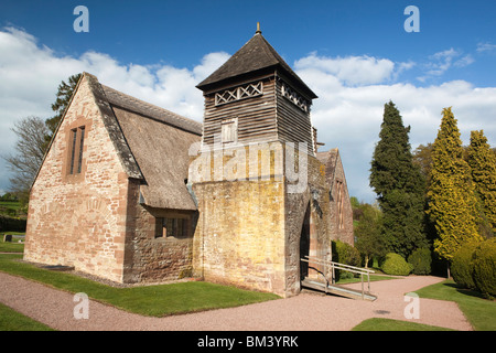 UK, England, Herefordshire, Brockhampton, All Saints Arts and Crafts Church, designed by William Lethaby - Stock Photo