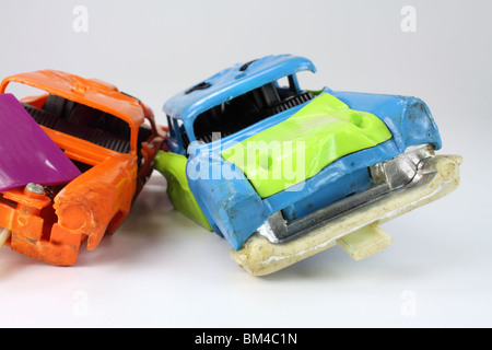 Junk toy cars - Stock Photo