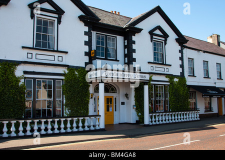 Londonderry Arms Hotel, Carnlough, Co. Antrim, Northern Ireland - Stock Photo