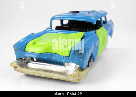 Junk toy car - Stock Photo
