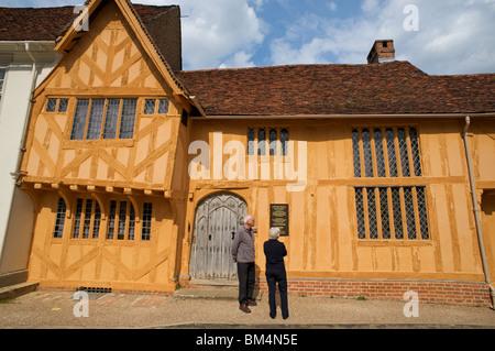 Little hall, Lavenham, Suffolk, UK. - Stock Photo