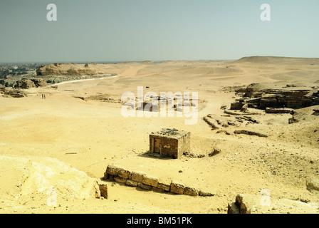 Giza Central Field, Cairo, Egypt - Stock Photo