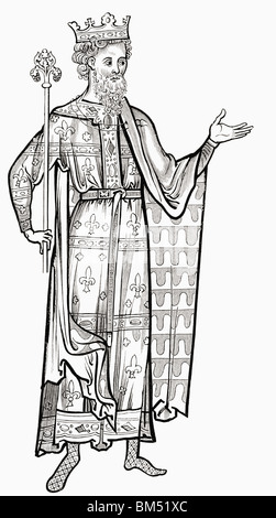 Louis IX, 1214 to 1270. King of France.