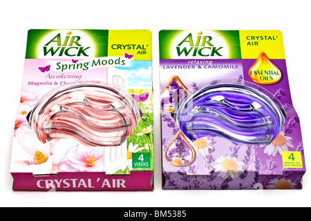 Two packed Airwick crystal airs - Stock Photo