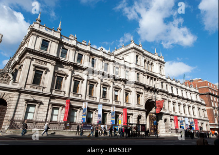 Royal Academy of Arts, Piccadilly, London, England, UK - Stock Photo