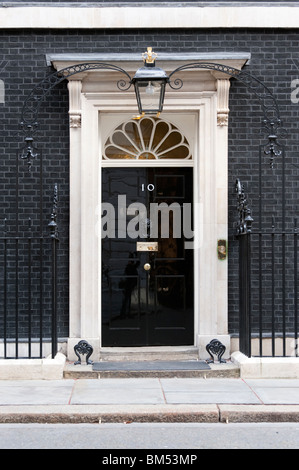 10 Downing Street, London, UK - Stock Photo