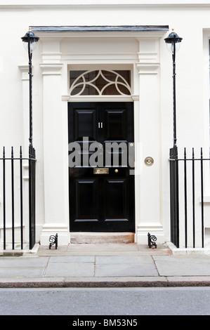 11 Downing Street, London, England, UK - Stock Photo