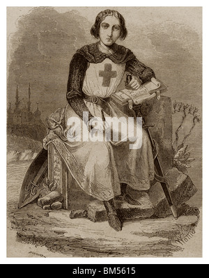 Jean de Joinville (1224-1317): Seneschal of Champagne and adviser and confident of King Saint-Louis.