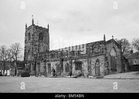 14th Century, Holy Trinity Church, Skipton, North Yorkshire, England. - Stock Photo