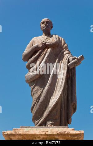 Lucius Annaeus Seneca, or Seneca the Younger, c. 4 BC – AD 65. Cordoba, Cordoba Province, Spain. - Stock Photo