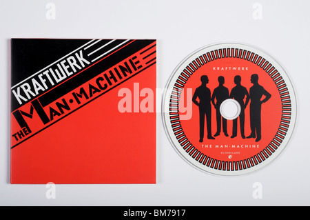 The Man Machine, a recording by the German electronic pop group Kraftwerk - Stock Photo