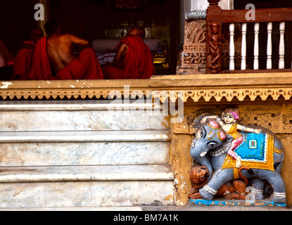 The old town in Ahmedabad, Gujurat India - Stock Photo