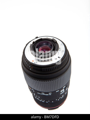 Sigma NIkon mount budget zoom lens - Stock Photo