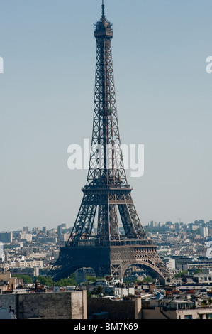 Paris, France, Eiffel Tower, Daytime, View - Stock Photo