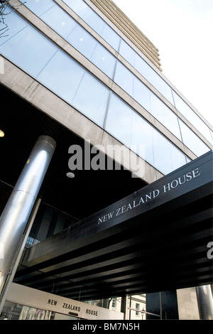 New Zealand House, Haymarket, London - Stock Photo