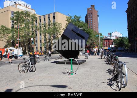 Astor Place Cube, The Alamo, Astor Place, Greenwich Village, Manhattan, New York City, USA