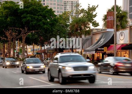 Ft Lauderdale Florida Shops On Las Olas Boulevard