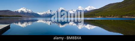 Lake McDonald, Glacier National Park, Montana - Stock Photo