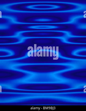 Blue Abstract Artistic Pattern - Stock Photo
