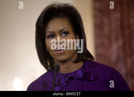 First Lady Michelle Obama. - Stock Photo