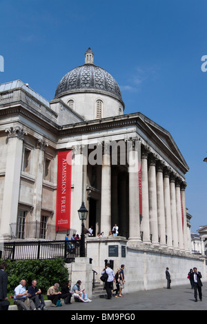 The National Gallery , London , England - Stock Photo