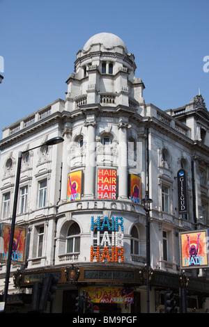 Gielgud Theatre , Londons West End, Shaftesbury Avenue , London, England - Stock Photo