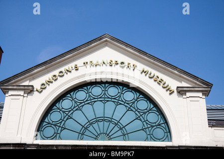 London Transport Museum , Covent Garden , London , England - Stock Photo