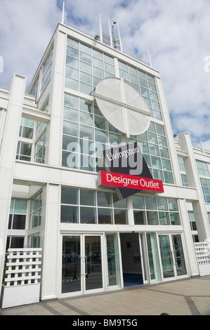 Livingston Designer Outlet shopping mall Scotland - Stock Photo