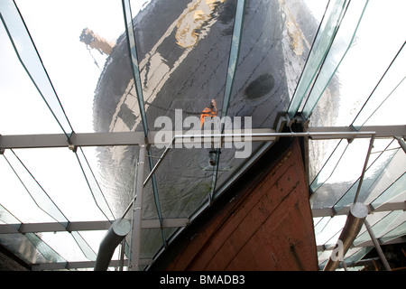 SS Great Britain maritime museum, Bristol, England - Stock Photo