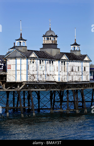 Eastbourne Pier East Sussex - Stock Photo