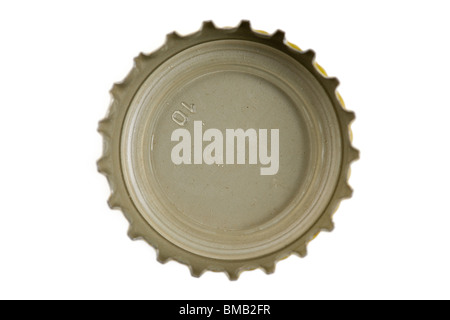 Bottle Cap close up shot - Stock Photo