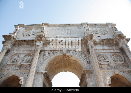 Constantine Arch near Colosseum, Rome, Italy - Stock Photo