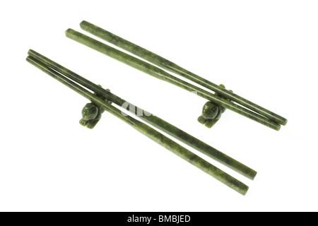 Chopsticks on Holder - Stock Photo