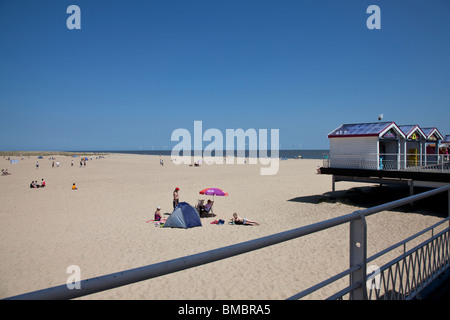 Gt Yarmouth Beach - Stock Photo