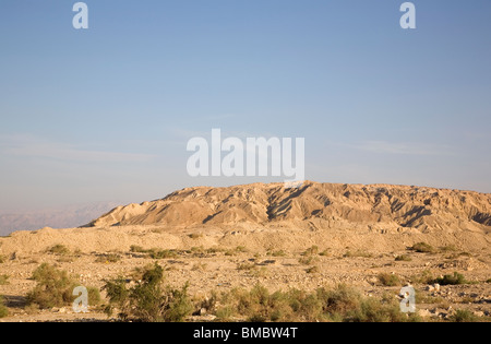 Mount Sodom Area in Israel -  along Sodom Arad Rd - Stock Photo