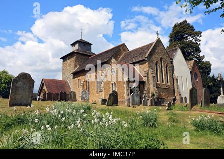 St John the Evangelist Wotton Church Surrey, England, UK. - Stock Photo