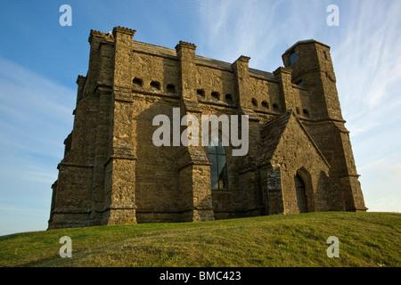 St Catherine's Chapel in Abbotsbury Dorset - Stock Photo