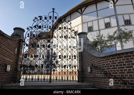 Shakespeare's Globe Theatre - London, United KingdomEuropean - Stock Photo